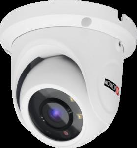 מצלמת אבטחה מסוג כיפה להתקנה על התקרה